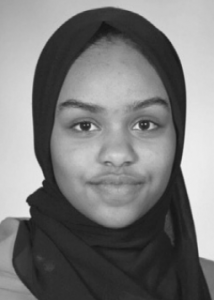 Sophomore Ismahan Weheylie was invited to be a part of the student Race & Equity team.