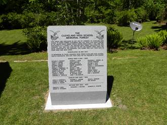 Front Side of Monument