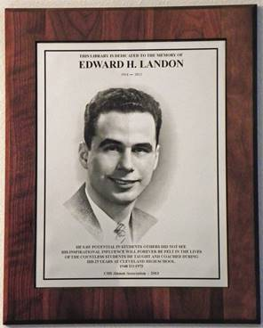 Landon Plaque