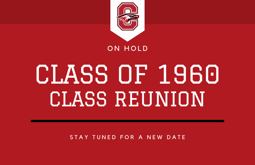 Class of 1960 Reunion on Hold