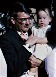 Uncle John and young Angela