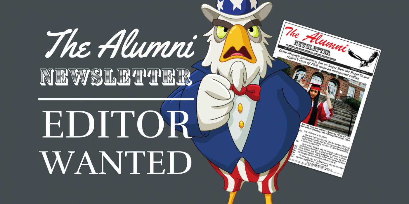 Newsletter Editor Wanted